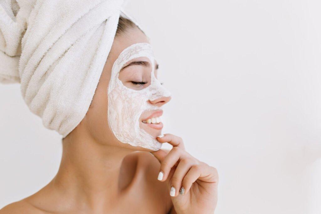 Máscara facial caseira de (Arroz) para clarear manchas na pele